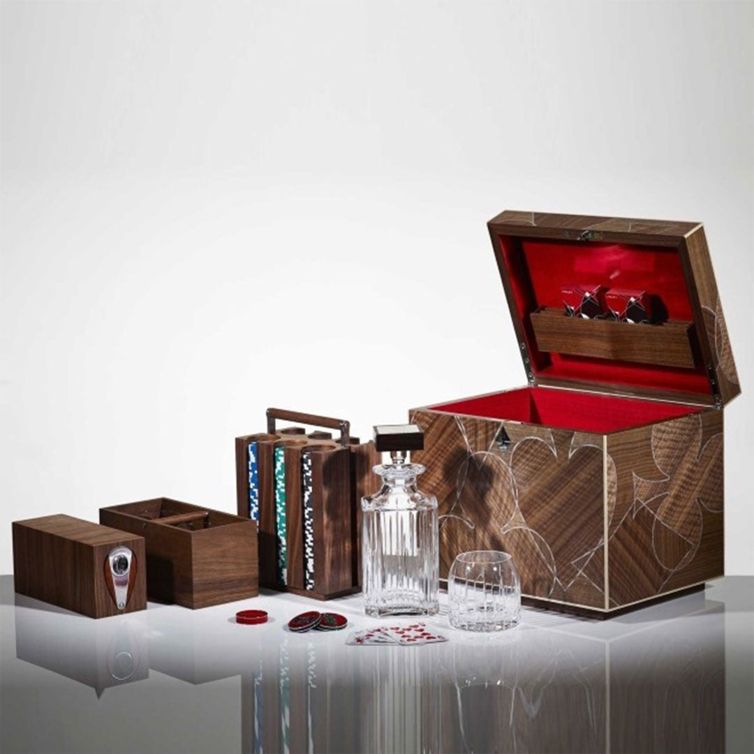 Linley Vice Box - Luxury Wooden Storage Engraved Gift