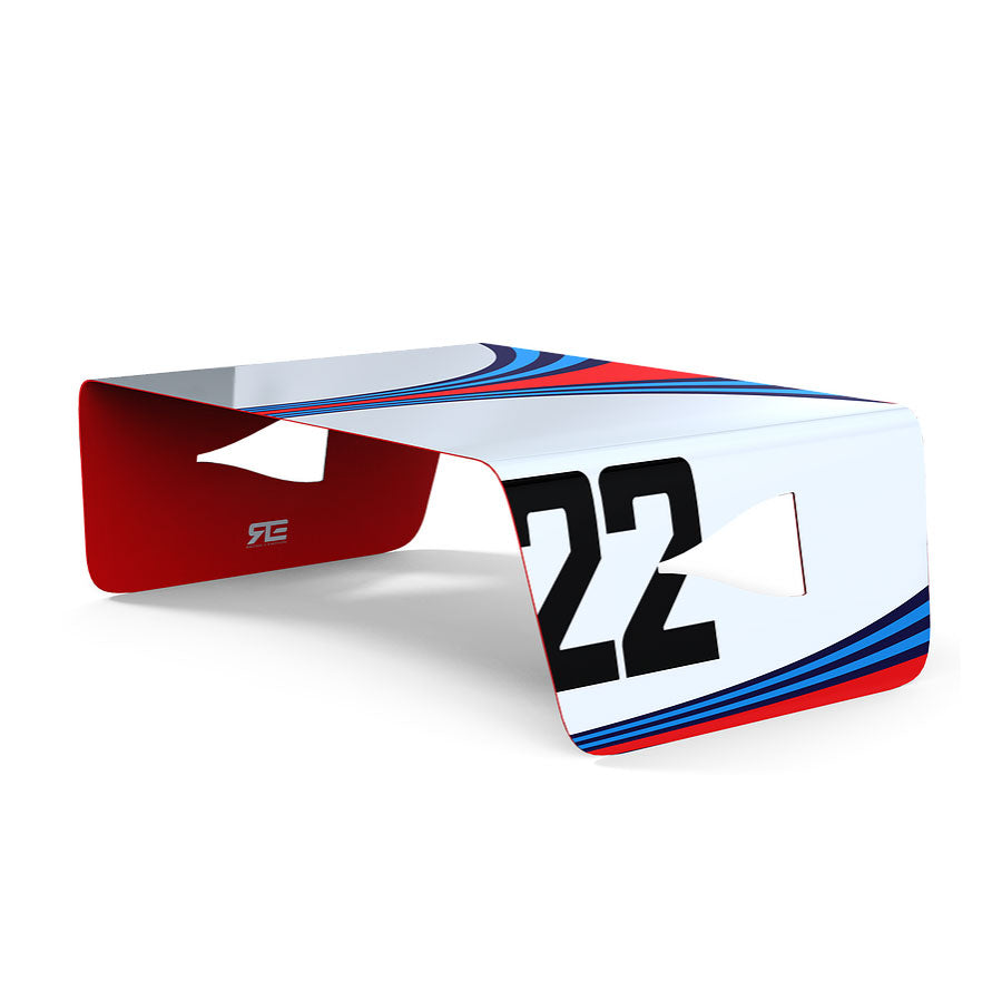 Racing & Emotion NACA Coffee Table - Porsche Martini Racing