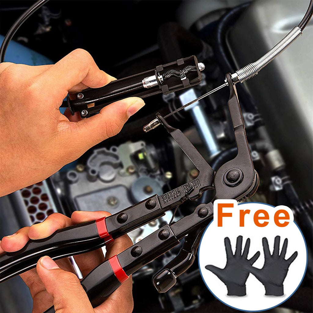 (Get a free pair of gloves & 65% OFF)  Flexible Hose Clamp Pliers