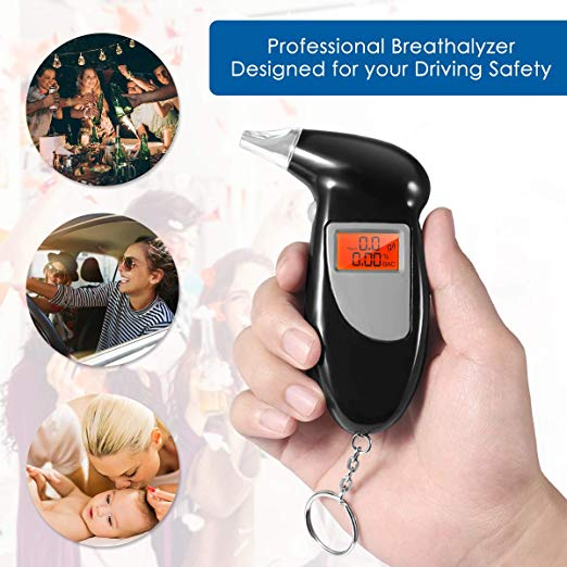 50%OFF TODAY ONLY!!-Quick Response Digital Alcohol Breathalyser
