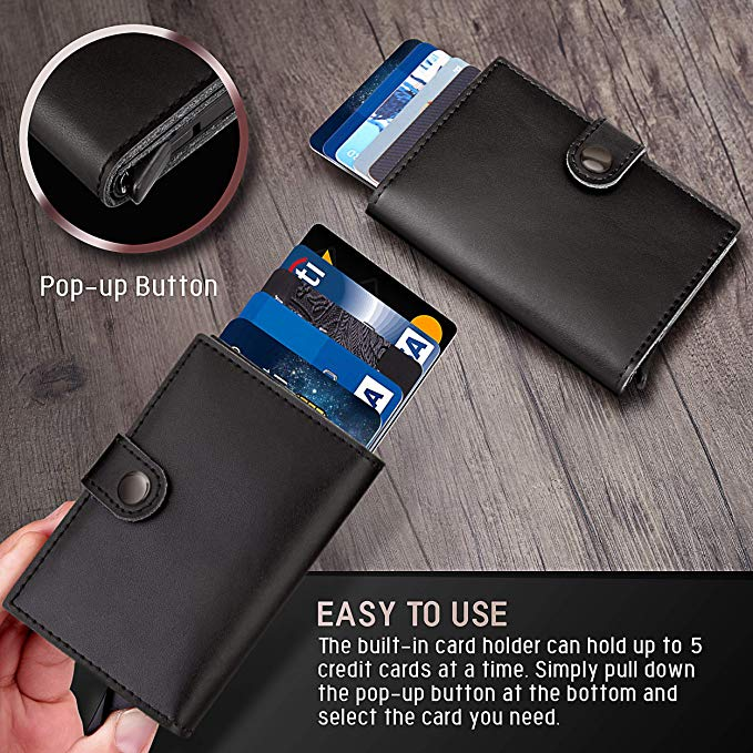 #1 BEST SELLER-Buy 1 get 1 50% off!!-SAFEVAULT RFID PROTECTED WALLET