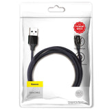 Baseus kabel Yiven USB - Lightning Kabel 1,8 m 2A sort