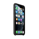 Originalt Apple iPhone 11 Pro Max sort silikone cover - coveryourphone.dk
