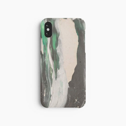 A Good Company Green Paint Cover til iPhone X & iPhone Xs