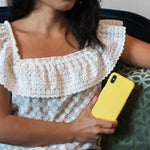 A Good Company Yellow Neon Cover til iPhone X & iPhone Xs