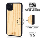 WoodWe iPhone cover i asketræ iPhone X & iPhone Xs