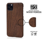 WoodWe iPhone cover i valnødde træ iPhone 11 Pro Max
