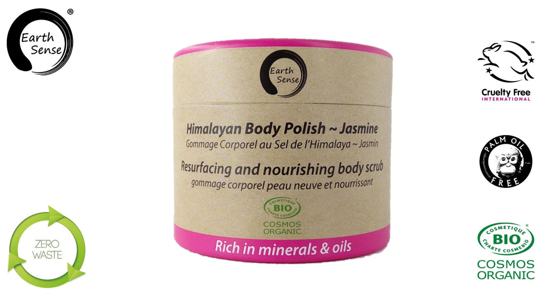 Organic Body Polish Exfoliant - Jasmine 200ml