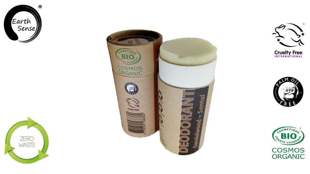Organic Natural Deodorant - Sandalwood 100ml