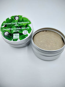 Natural Solid Toothpaste - Daily Use