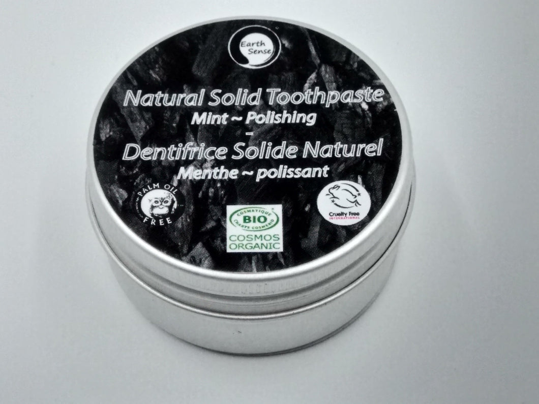 Natural Organic Certified Solid Toothpaste - Polishing