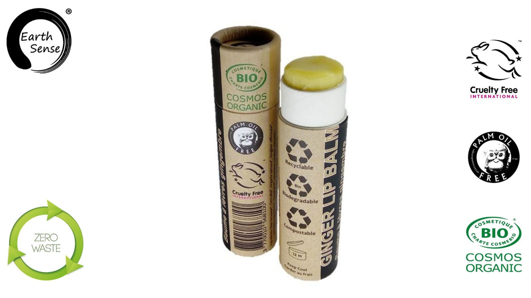 Organic Ginger Lip Balm 15ml