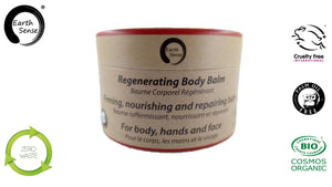 Organic Regenerating Body Balm with Ylang Ylang 100ml - For Face, hands and whole body