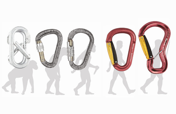 The history of carabiners