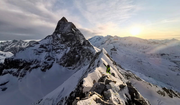 First winter traverse of the Furggen, Matterhorn, Grandes Murailles and Petites Murailles chains by FranÇois Cazzanelli