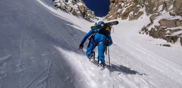 Skiing - My Gear For Couloir Jaeger - Mont Blanc du Tacul by Denis Trento