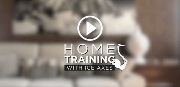 Home Training with Ice Axes