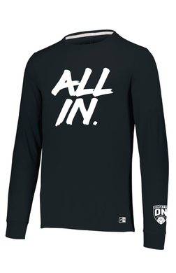 All In Men's Ringette Ontario Long Sleeve Tee