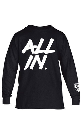 All In Youth Ringette Ontario Long Sleeve Tee