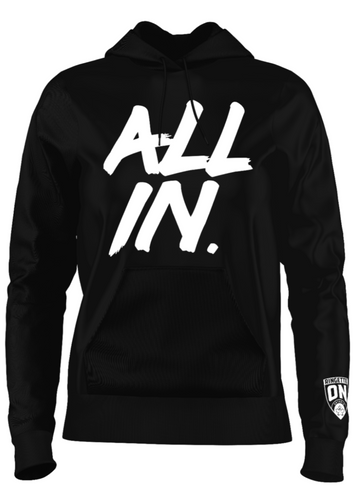 All In Unisex Adult Ringette Ontario Hoodie