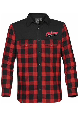 Men's Buffalo Plaid Oshawa Ringette Thermal