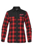 Load image into Gallery viewer, Women's Buffalo Plaid Oshawa Ringette Thermal