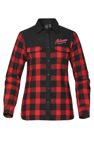 Women's Buffalo Plaid Oshawa Ringette Thermal