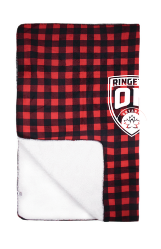 Ringette Ontario Simcoe Sherpa Throw