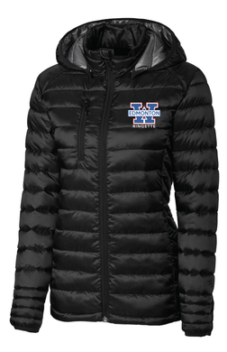 Edmonton Wam Ringette Puffy Jacket-Ladies
