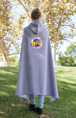 Whitby Ringette Hooded Sweatshirt Fleece Team Blanket
