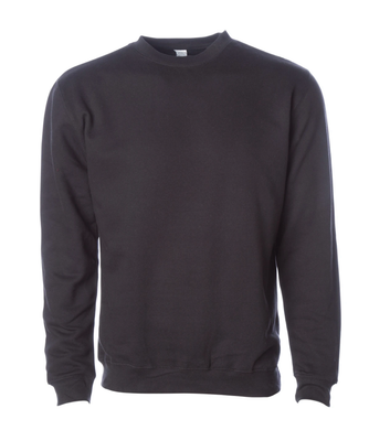 Premium Black Crew Neck Sweatshirt