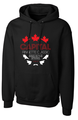 Capital Ringette Classic Game Day Hoodie-YOUTH