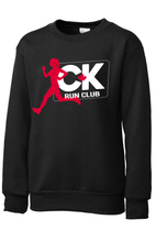 Load image into Gallery viewer, CK Run Club Crewneck Sweatshirt-Youth