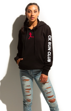 Load image into Gallery viewer, CK Run Club Up My Sleeve Hoodie- Youth