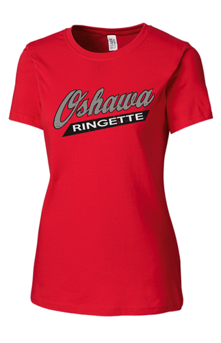 Oshawa Ringette Ladies McLaughlin Short Sleeve Tee