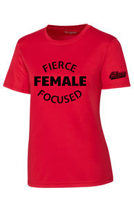 Oshawa Ringette Ladies Performance Short Sleeve Tee