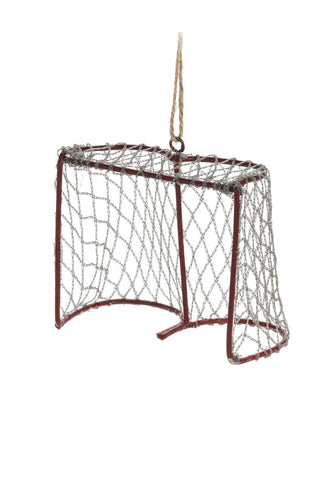 Goalie Net Christmas Ornament