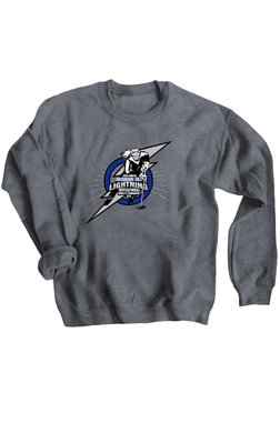 Richmond Hill Ringette 33rd Annual Invitational Gunmetal Grey Crew Neck Sweatshirt