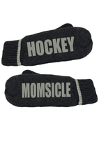 Load image into Gallery viewer, Hockey Momsicle Message Mittens
