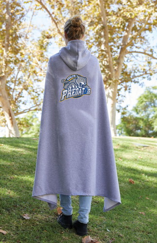 Guelph Ringette Hooded Sweatshirt Fleece Team Blanket