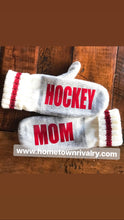 Load image into Gallery viewer, Ringette Custom Message Mittens