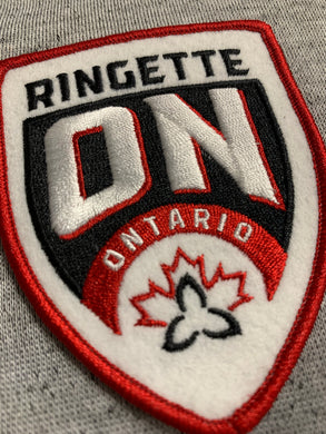 Ringette Ontario Iron On Patch
