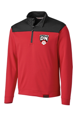 Ringette Ontario Official Men's Red & Black Pull Over