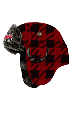 Oshawa Ringette Buffalo Check Trapper Hat