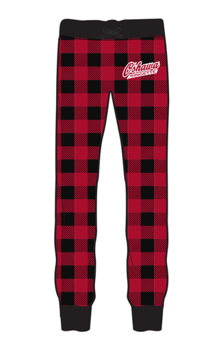 Oshawa Ringette Buffalo Check Fleece Joggers