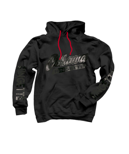 Oshawa Ringette Midnight Youth Hoodie- Black