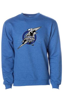Richmond Hill Ringette 33rd Annual Invitational Blue Crew Neck Sweatshirt