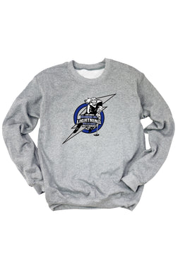 Richmond Hill Ringette 33rd Annual Invitational Light Grey Crew Neck Sweatshirt