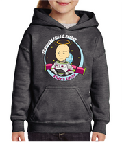 Load image into Gallery viewer, Ryley's Riders Hoodie- Dark Heather Gray