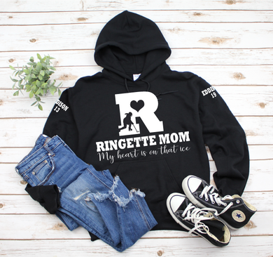 Ringette Mom love